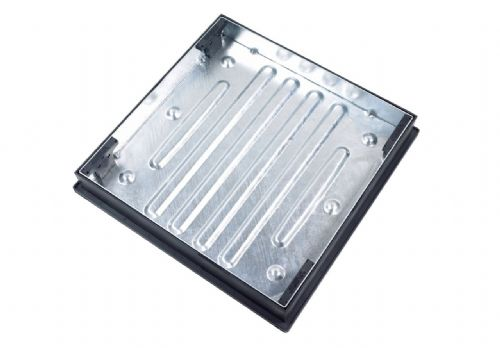 BLOCK PAVING RECESSED COVER & FRAME 600x600x80mm CD791R